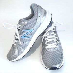 Women's New Balance Silver Running Shoes